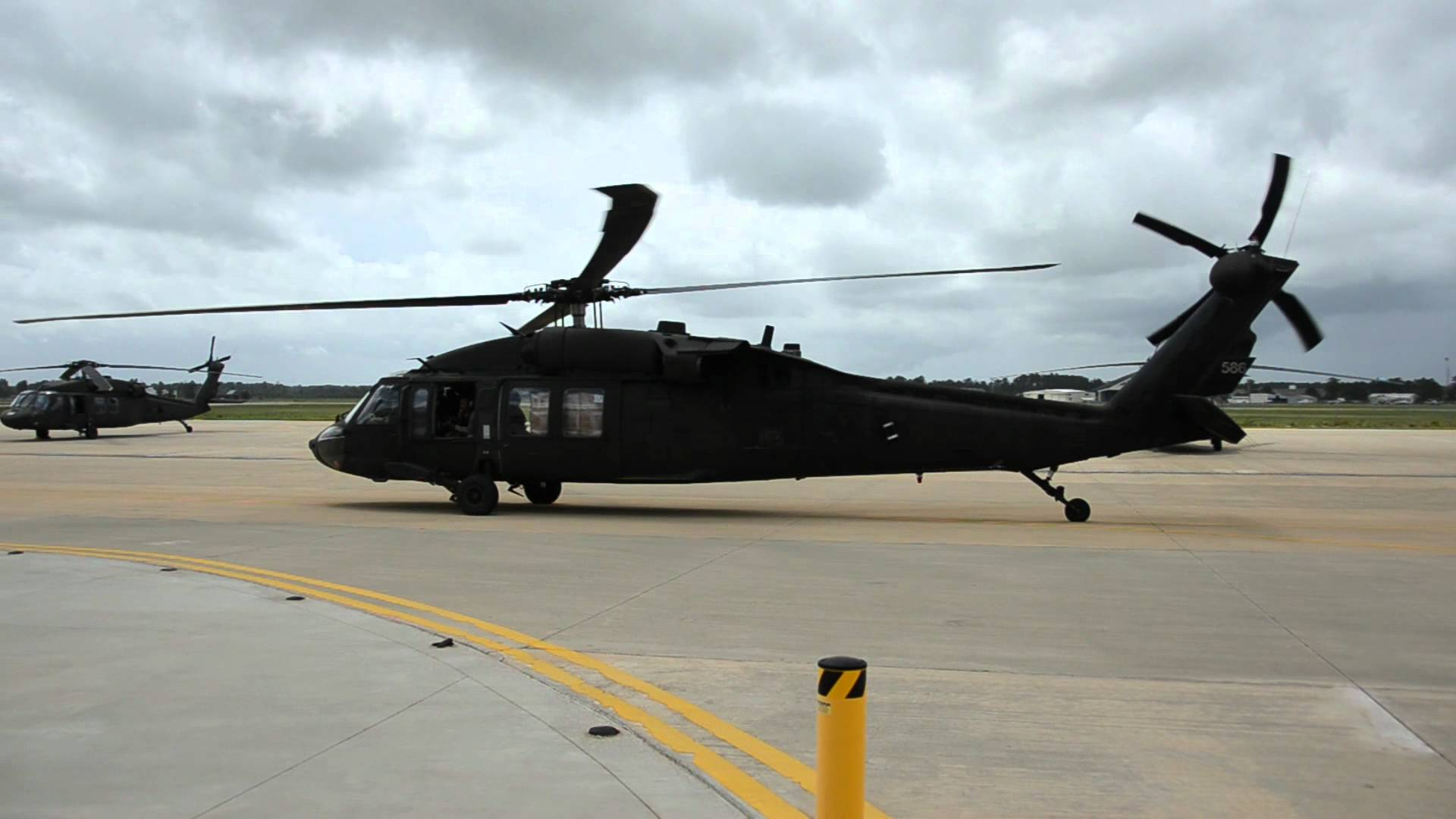 An undated photo of a Louisiana National Guard UH-60 Blackhawk from the 1-244 Aviation Regiment. Louisiana Guard Photo