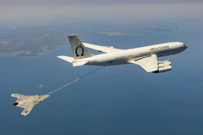 Navy Conducts Successful Test of Aerial Refueling with X-47B, UCAS-D Program Ending