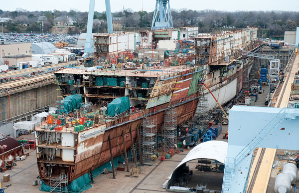 FY 2019 U.S. Navy 30-Year Shipbuilding Plan