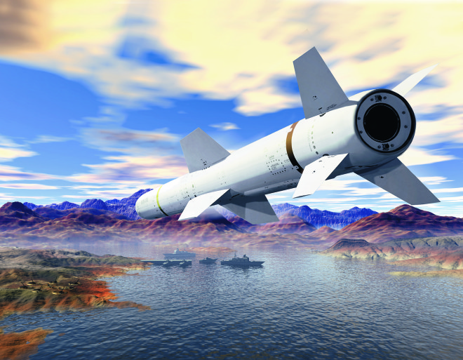 Boeing Wins $207M International Harpoon Contract