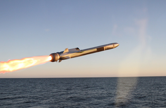 No Funds Available for Naval Strike Missile Test on USS Freedom, Demo Stalled