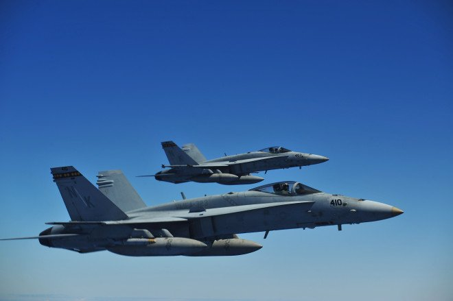China Warns U.S. Following Emergency Landing of Two Marine Hornets in Taiwan