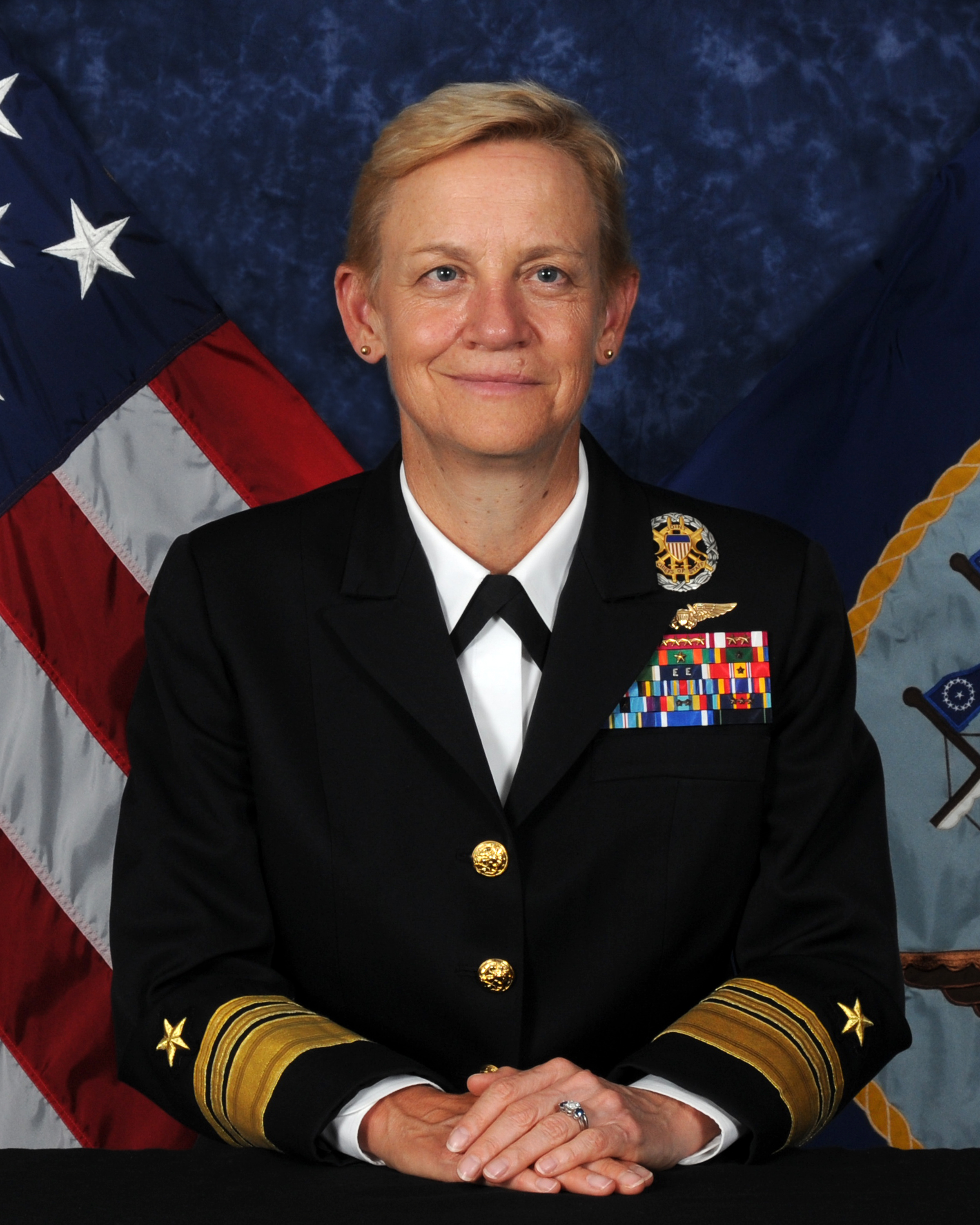 Vice Adm. Nora Tyson, deputy commander of U.S. Fleet Forces Command.
