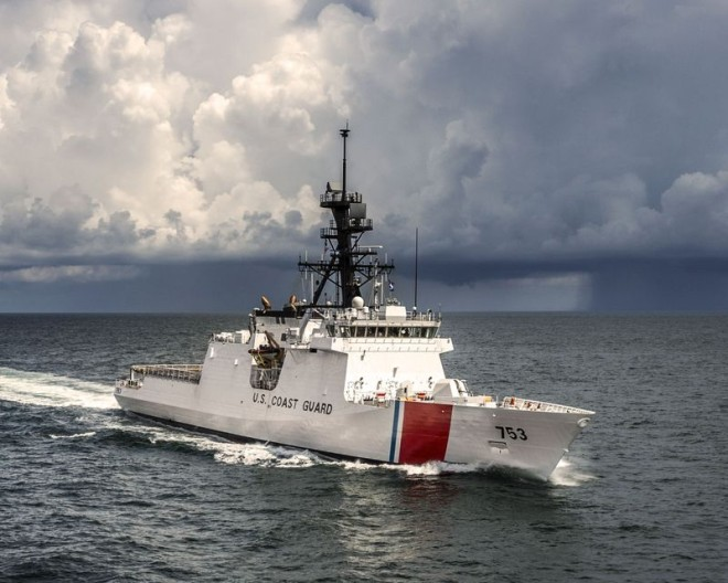 Coast Guard Awards HII $499.8M Contract for Last National Security Cutter
