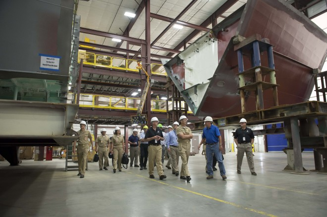 Navy, Contractors Trimming Weight on Both Littoral Combat Ship Variants Ahead of Frigate Design