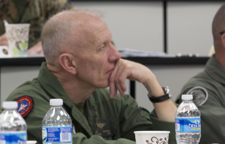 Deputy Commandant of Aviation Lt. Gen. Robert Schmidle in 2013. US Marine Corps Photo