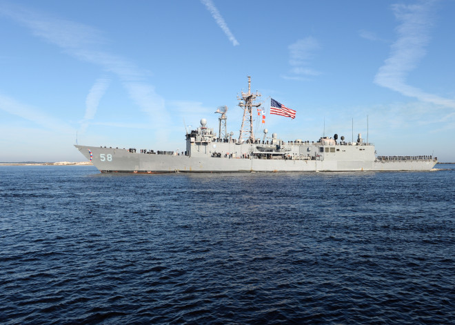 Opinion: USS Samuel B Roberts Should Take Barry's Place at the Washington Navy Yard