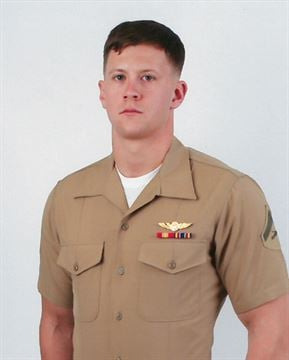 Lance. Cpl. Joshua Barron, 24, of Spokane, Wash.