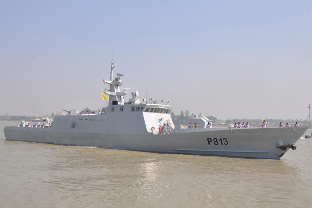 Durjoy-class patrol boat. Photo via Wikipedia
