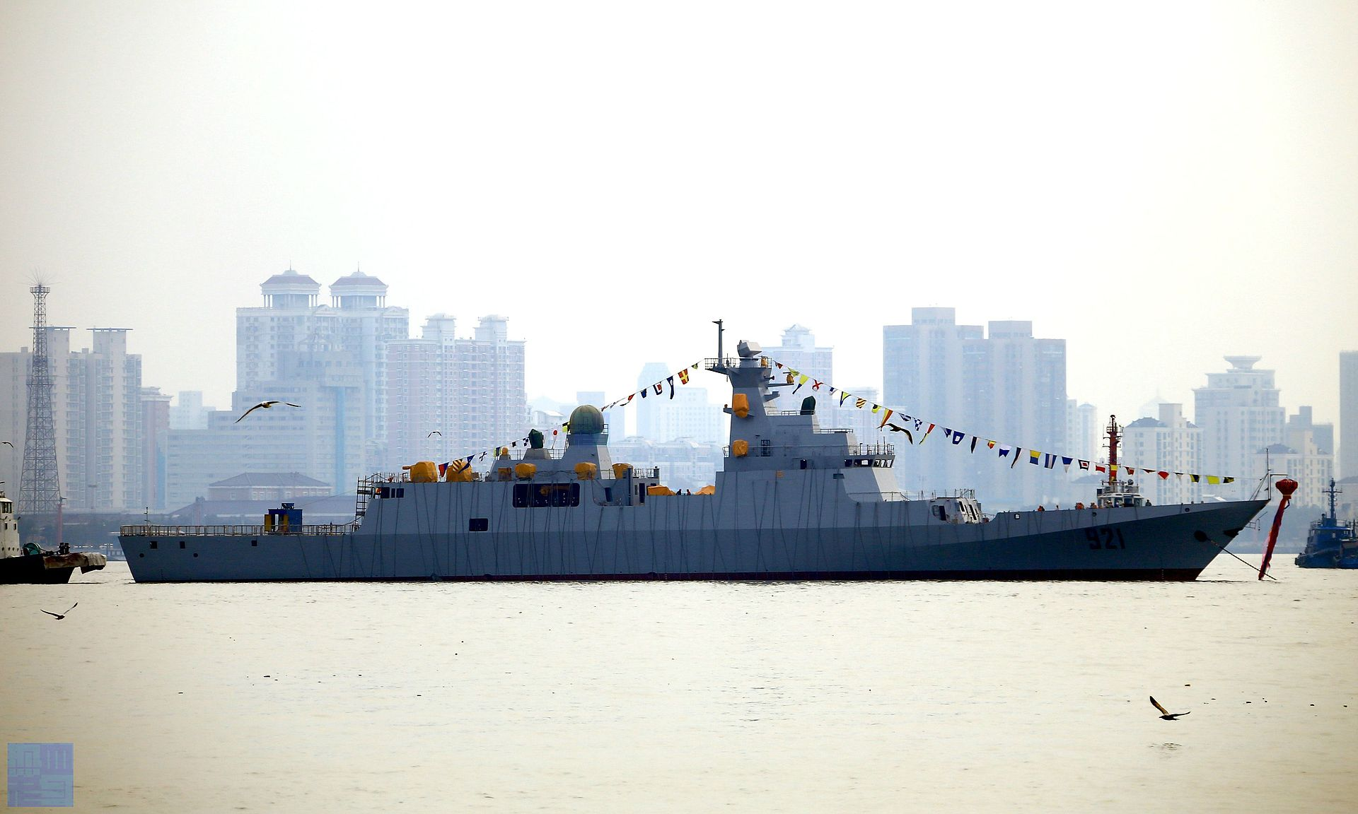 A Chinese-built Algerian corvette. Photo via mil.huanqiu.com