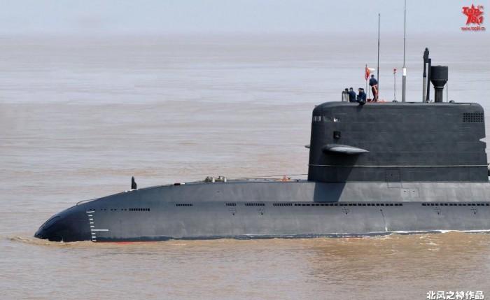 Chinese Yuan-class submarine