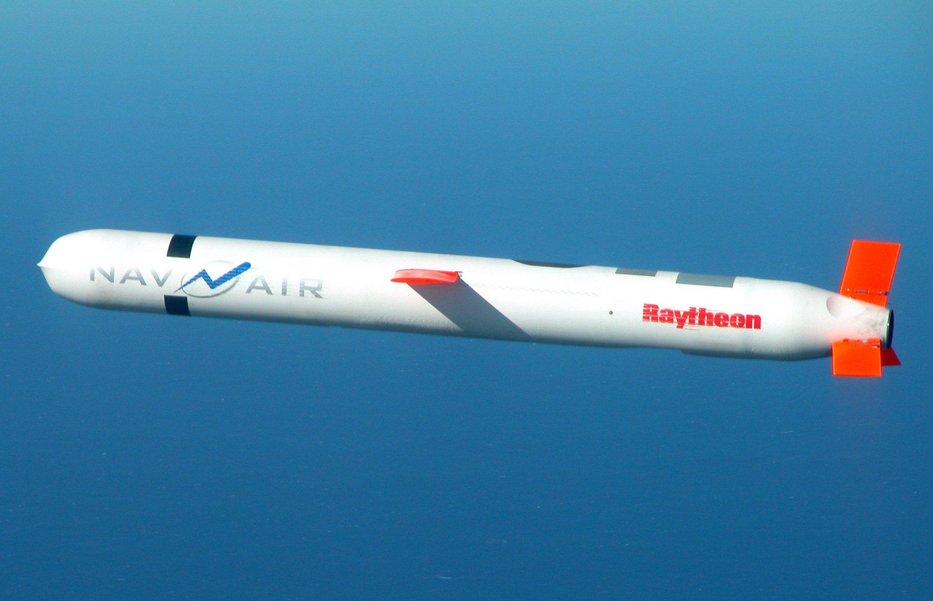 Tomahawk BLK IV cruise missile. US Navy Photo