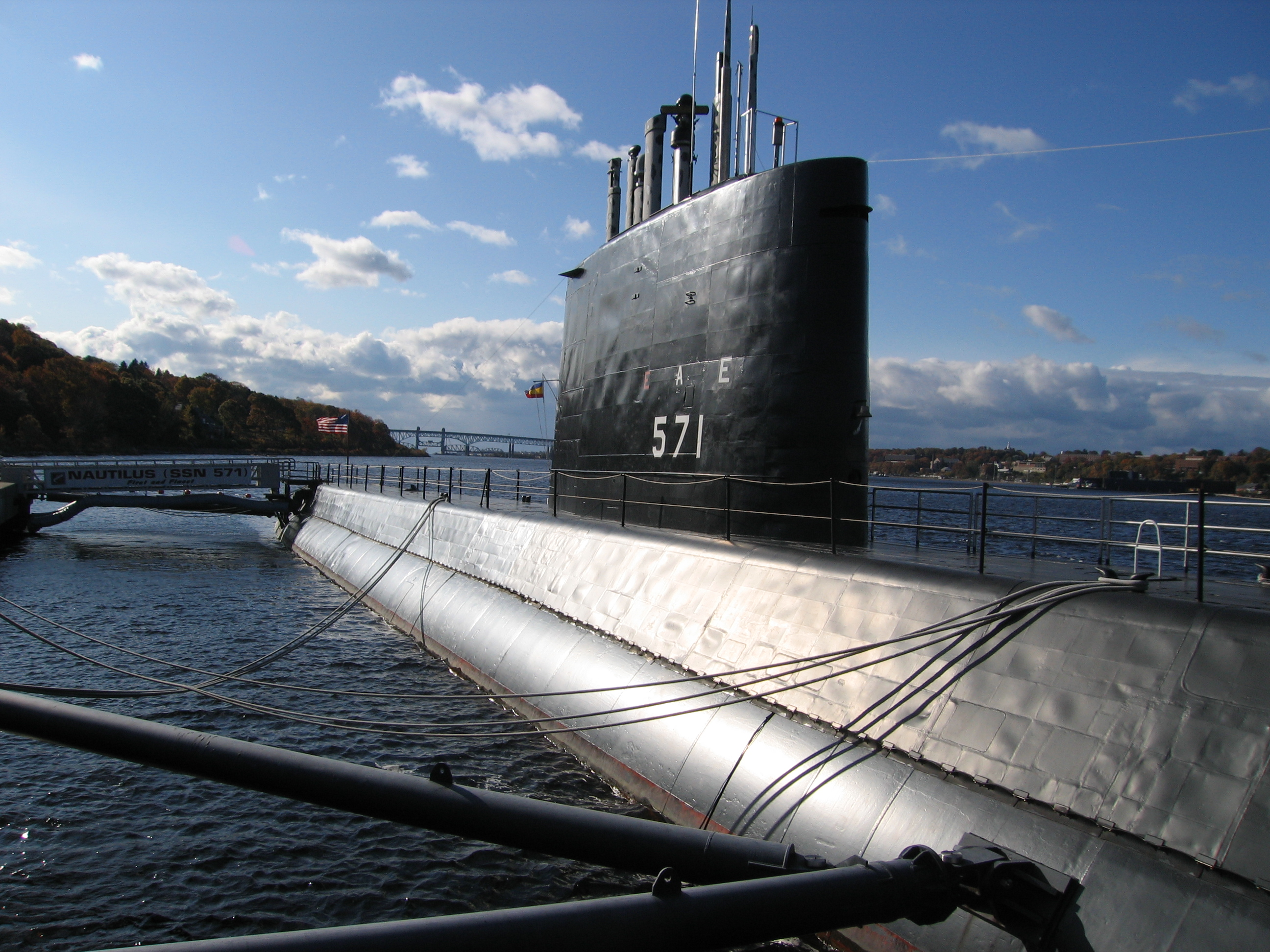 USS Nautilus (SSN-571). US Navy Photo