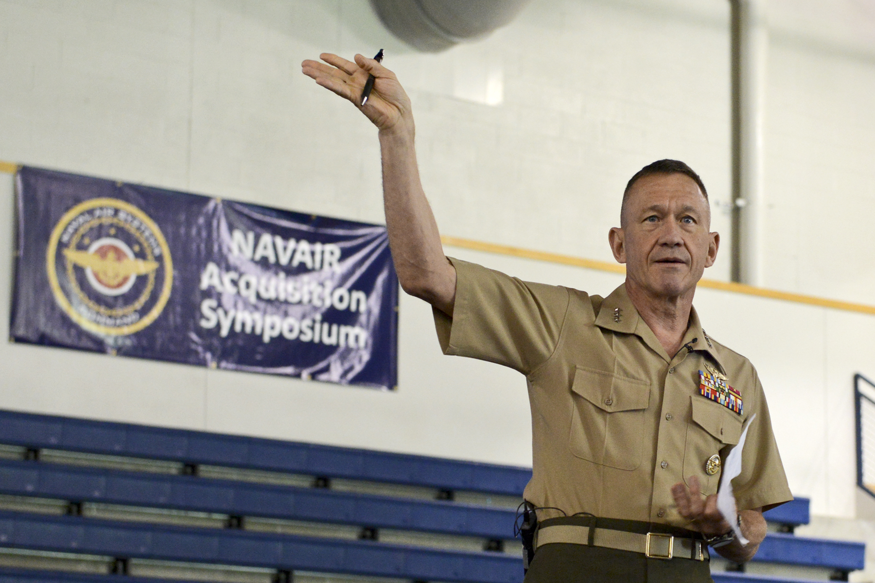 Lt. Gen. Jon Davis, deputy commandant for aviation, Headquarters Marine Corps. US Navy Photo