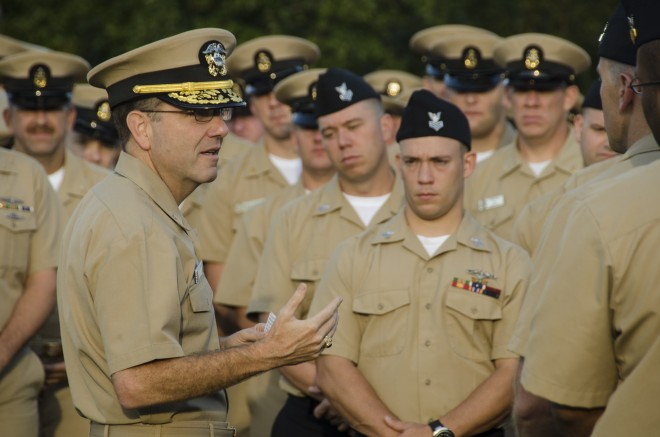 Navy Director of Submarine Warfare Tofalo Nominated to be Next COMSUBFOR