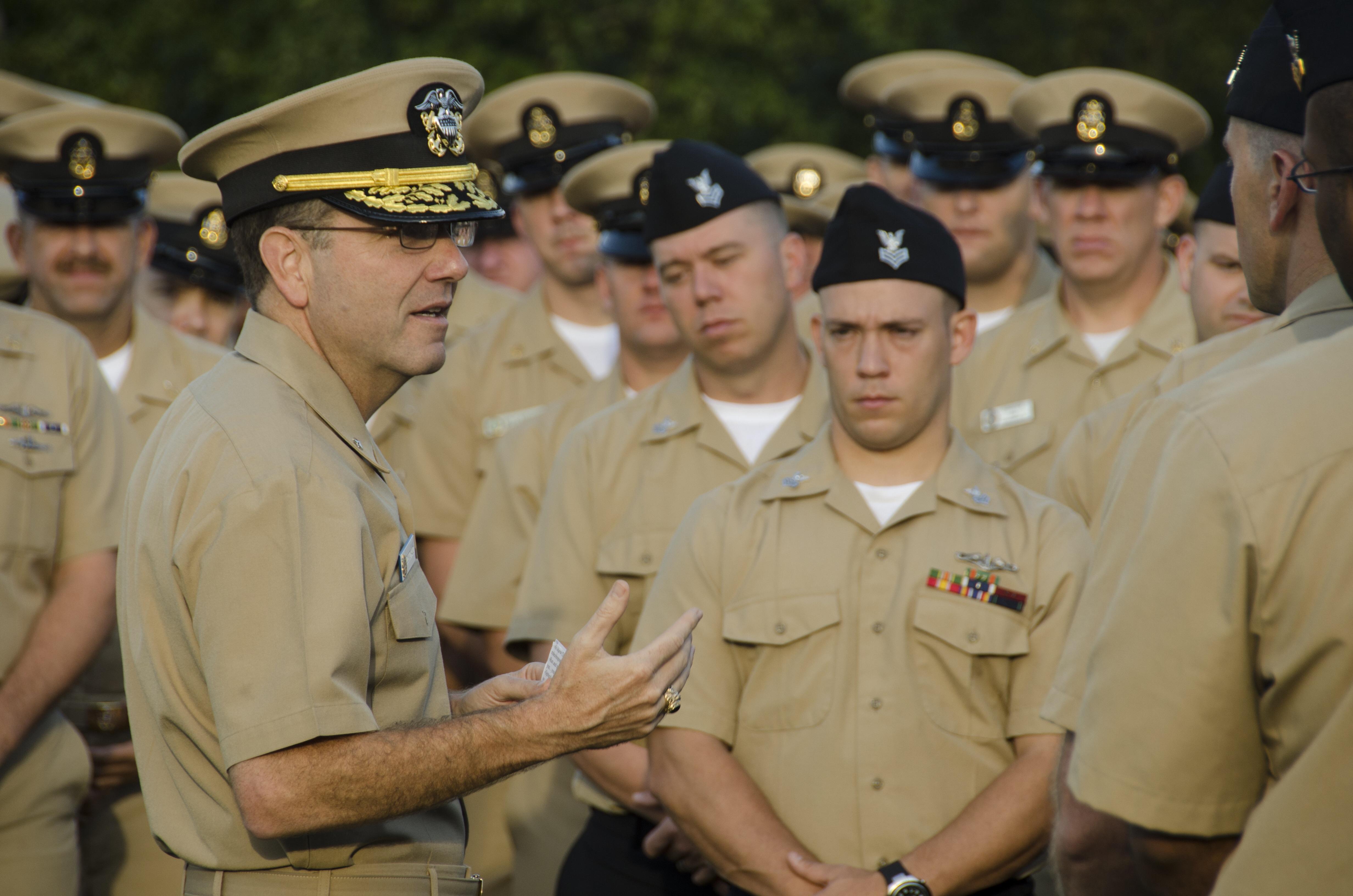Rear Adm. Joseph Tofalo in 2012. US Navy Photo