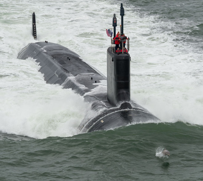 Attack Submarine John Warner Successfully Completes First Set of Sea Trials