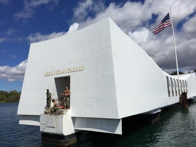 Navy: Repairs to USS Arizona Memorial Dock Close to Complete, Could Open by Weekend