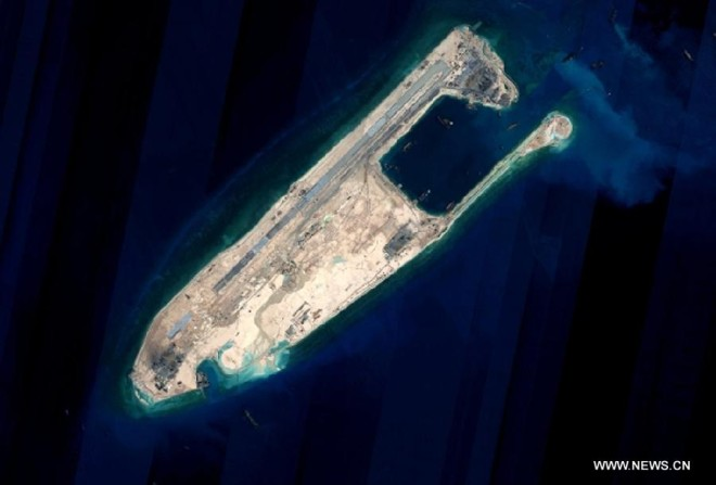 China: Some South China Sea Land Reclamation Will Be Complete in 'Upcoming Days'