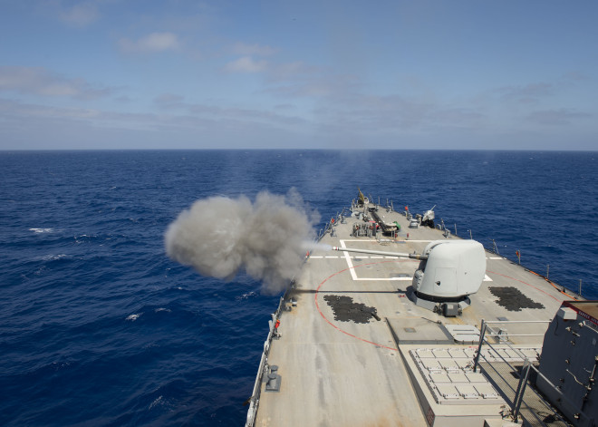 Updated: Navy Researching Firing Mach 3 Guided Round from Standard Deck Guns