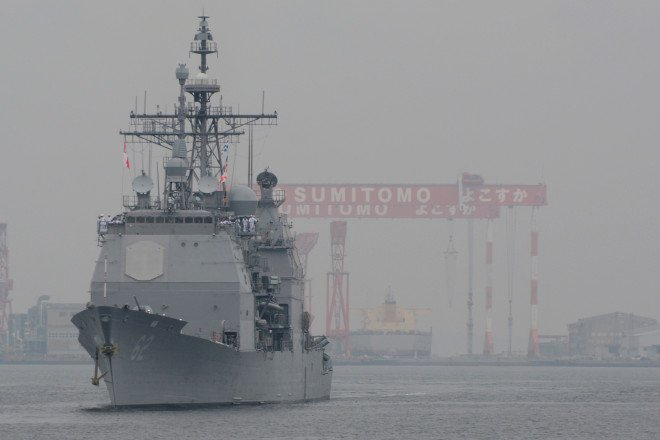 Upgraded Cruiser USS Chancellorsville Arrives in Japan for Forward Deployment