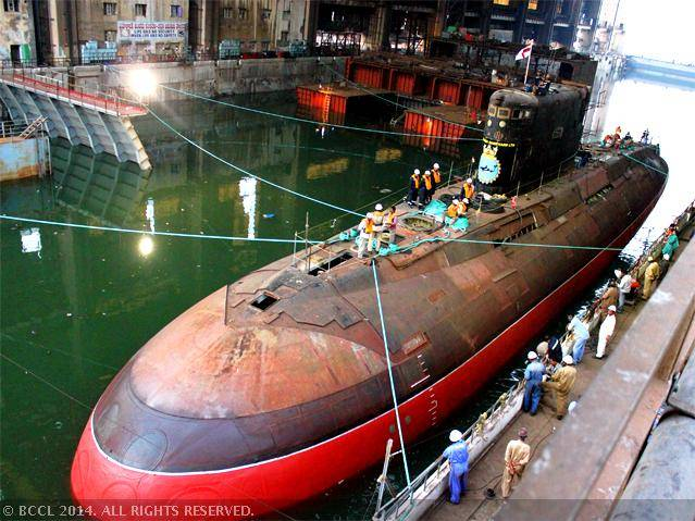 Indian Attack Submarine to Conduct Final Trials After 9 Years In Yard for Upgrades