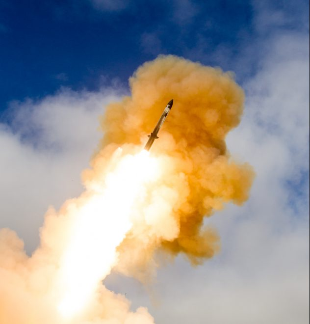Navy, Missile Defense Agency, Japan Conduct First Flight Test of Standard Missile-3 Block IIA