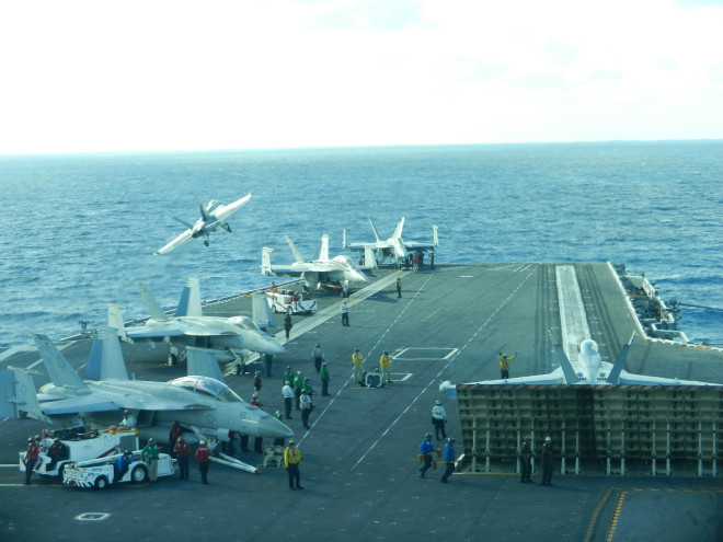Stennis, SPAWAR Prepare for First Carrier Deployment with Next Generation CANES Network