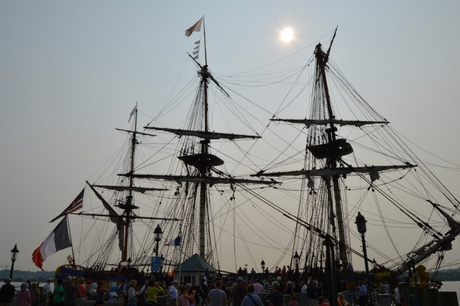 U.S. Tour of French Frigate Hermione Highlights Past and Present Seapower Alliances