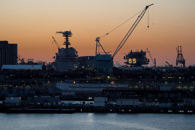 1,500 Layoffs Planned for Newport News Shipbuilding