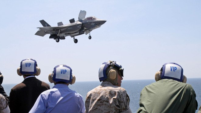 Marines Declare Initial Operational Capability on F-35B Joint Strike Fighter