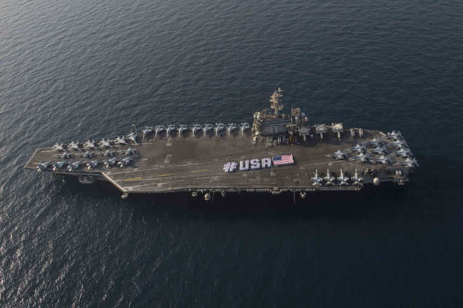 Photo Gallery: Celebrating U.S. Independence Day at Sea
