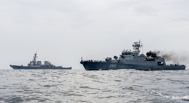 USS Porter Leaves Black Sea, Rota Destroyer USS Ross Returns From 4 Month Patrol