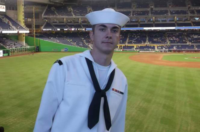 Undated photo of Petty Officer 2nd Class Randall Smith, 26.