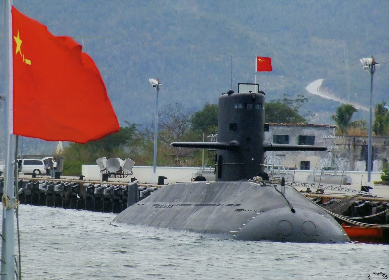 Undated photo of a Type 39 Yuan-class submarine