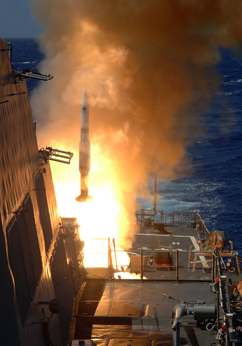 Navy Restricts Use of 'A Number' of SM-2 Missiles ...