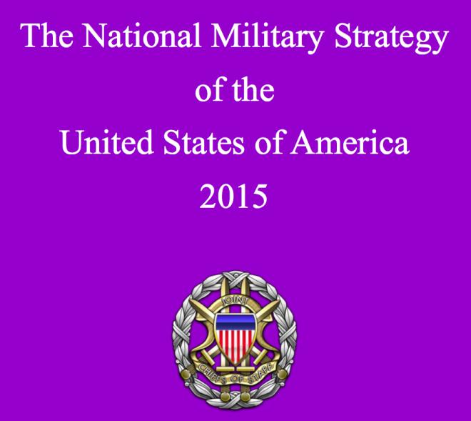 Document: 2015 U.S. National Military Strategy
