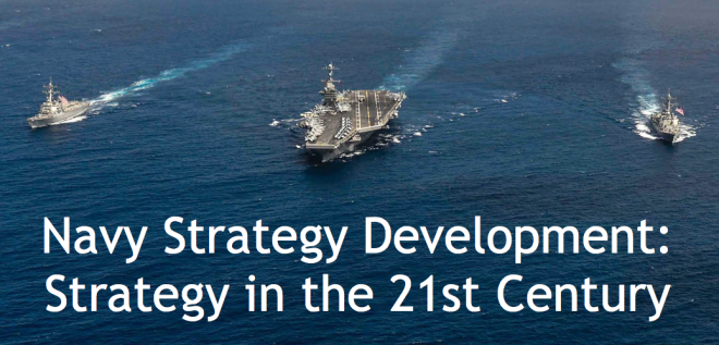 Document: Naval Postgraduate School Study on U.S. Navy Strategy Development