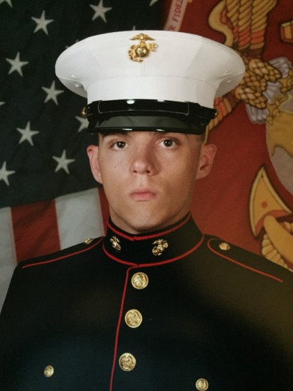 Lance Cpl. Squire Wells. Family photo via Fox News.