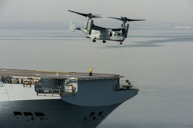 French May Certify MV-22 For Flight Deck Operations on Mistral-Class Amphibs