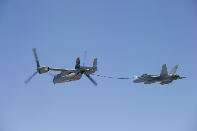 Davis: V-22 Aerial Refueling System Should Be Ready For Early F-35 Operations Despite 1-Year Delay