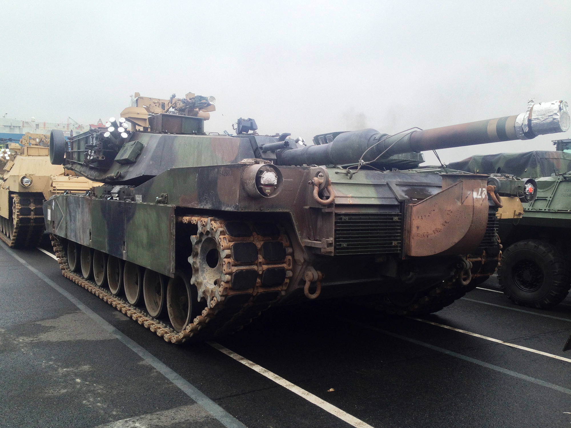 U.S. Marines now have tanks, artillery, and light-armored reconnaissance vehicles in Europe to support NATO allies and international partner countries. US Marine Corps photo.