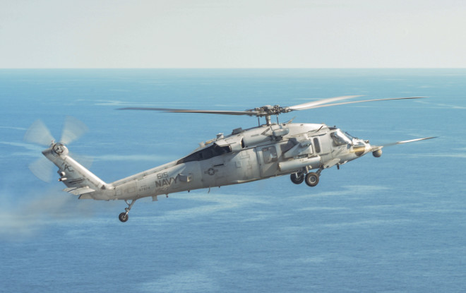 Norfolk-Based Helo Squadron Tests APKWS Rocket Guidance System