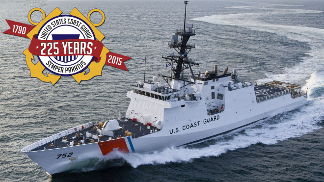 Document: U.S. Coast Guard's 225th Birthday Message