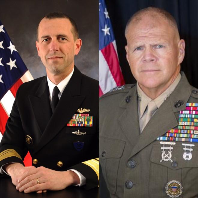 Senate Confirms Richardson, Neller for Top Navy, Marine Jobs