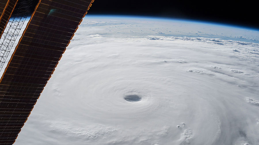 Image of Typhoon Soudelor from the International Space Station. NASA Photo