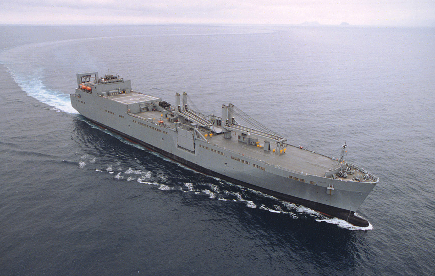 An undated photo of a Watson-class LMSR. MSC Photo