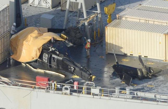 Several Injured After U.S. Army Helo Has 'Hard Landing' on MSC Ship off Okinawa