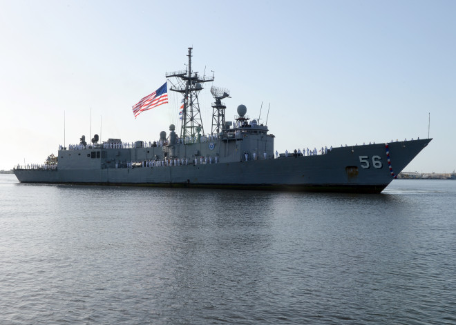 Last Oliver Hazard Perry Frigate USS Simpson Leaves Service, Marked for Foreign Sale