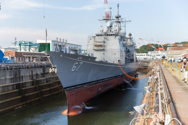 Navy Refining Surface Ship Master Plan to Balance Shipyard, Operational Needs